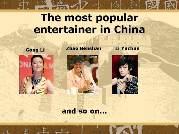 Slide24 - Most Popular Entertainer