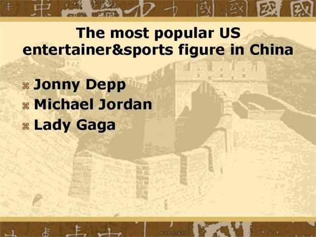 Slide25 - Most Popular U.S. Entertainer
